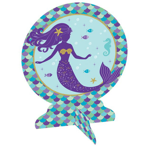 Mermaid Wishes Party - 3D Table Centrepiece