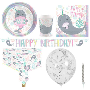 Narwhal Party - Deluxe Party Pack - 8 Guests