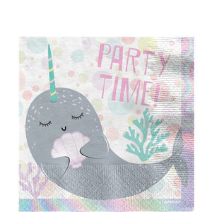 Narwhal Party Napkins - 16 PK