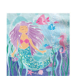 Magical Mermaid Party - Paper Napkins