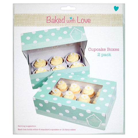 Dual Insert Cupcake Box by Baked with Love