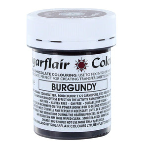 Sugarflair Chocolate Colouring - Burgundy