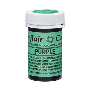 Sugarflair NatraDi Natural Colour Paste - Purple