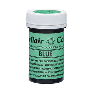 Sugarflair NatraDi Natural Colour Paste - Blue
