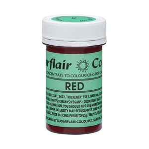 Sugarflair NatraDi Natural Colour Paste - Red
