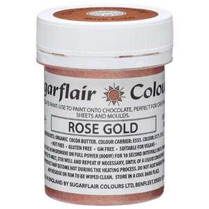 Sugarflair Chocolate Colouring - Rose Gold