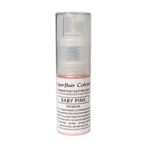 Powder Puff Glitter Dust Spray - Pink 10g