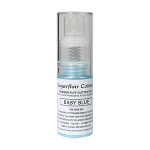 Powder Puff Glitter Dust Spray - Blue 10g