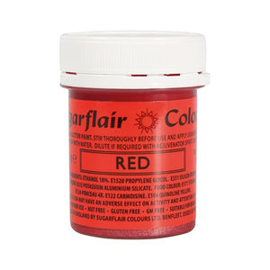 Edible Glitter Paint - Red