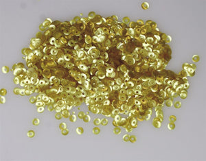 Rainbow Dust Edible Glitter Gold Sequins - 1.4g