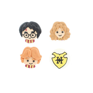 Harry Potter Cake Decorations - 8 Handmade Sugar Cake Toppers