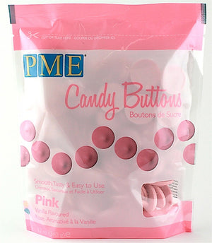PME Candy Buttons - Pink 340g