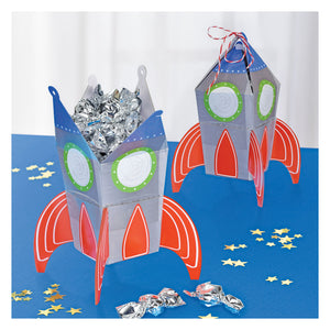 Favour Boxes Loot Party (Bags) - 8 pack: Blast Off Birthday by Amscan
