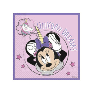 Disney Minnie Mouse Unicorn Dreams Party Napkins