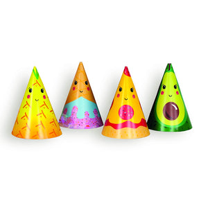 Fun Food Party Hats