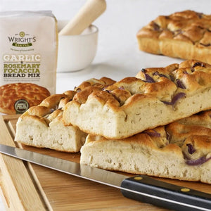 Wright's Garlic and Focaccia Bread Mix - 500g