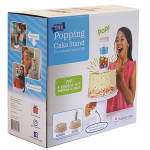 Surprise Cake Popping Pop-Up Stand