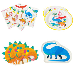 Talking Tables Dinosaur Party Pack - 12 Guests