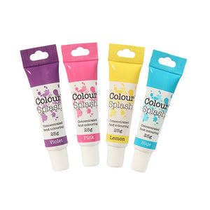 Unicorn Food Colouring Gel Set - 4 Pack perfect for Unicorn Cakes