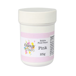 Colour Splash Edible Paint - Matt Pink