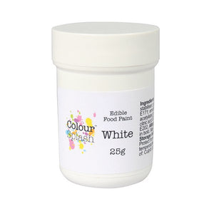 Colour Splash Edible Paint - Matt White
