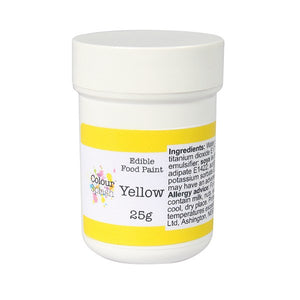 Colour Splash Edible Paint - Matt Yellow