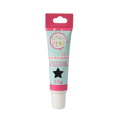 Cake Star Writing Icing - Black