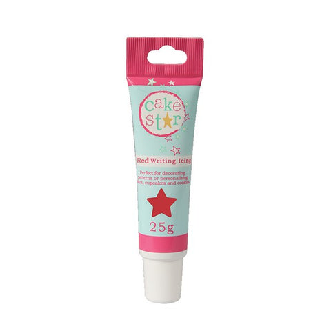 Cake Star Writing Icing - Red