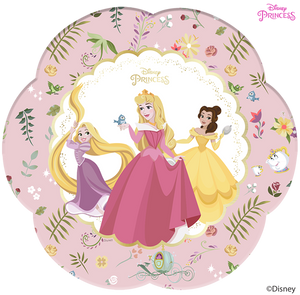 Disney Princess True Party Large Shaped Plates