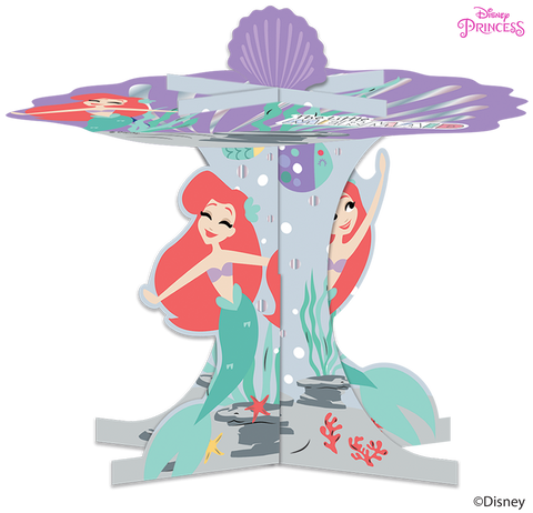 Disney Princess Ariel Under the Sea Party Cupcake Stand