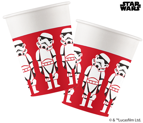 Star Wars Paper Cut Party - Paper Cups