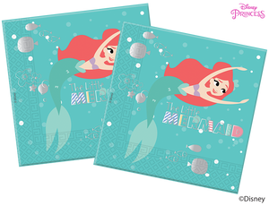 Disney Princess Ariel Under the Sea Party Paper Napkins