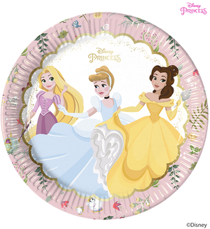 Disney Princess True Party Paper Plates
