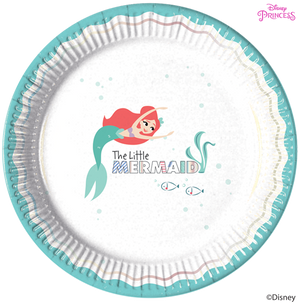 Disney Princess Ariel Under the Sea Party Paper Plates