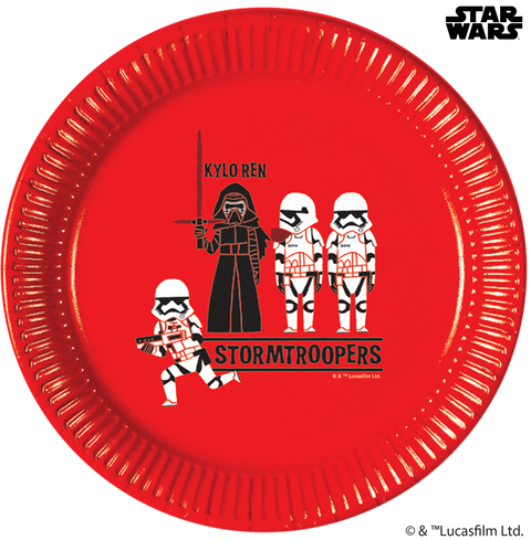 Star Wars Paper Cut Party - Paper Plates