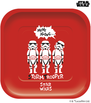 Star Wars Paper Cut Party - Large Square Paper Plates