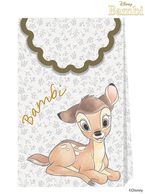 Disney Bambi Cutie Paper Party Bags