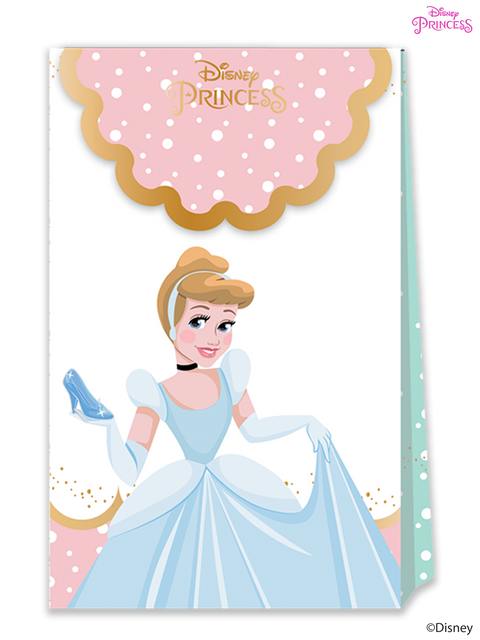 Disney Princess True Party Paper Loot Bags