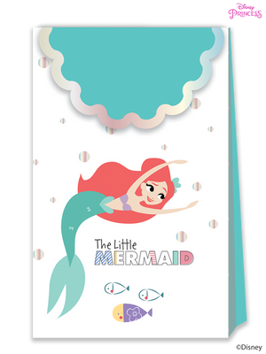 Disney Princess Ariel Under the Sea Party Paper Loot Bags