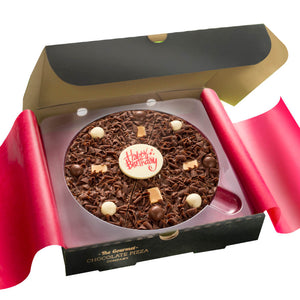 The Gourmet Pizza Company Happy Birthday Chocolate Pizza