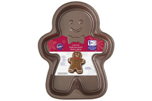 WILTON NON STICK GINGERBREAD MAN CAKE PAN