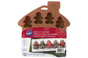 Gingerbread Man Bite Size Treat Mould - Wilton