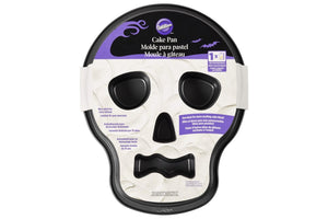 Wilton Skull Tube Cake Pan with Flutes