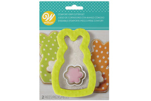 COMFORT GRIP CUTTERS - EASTER BUNNY AND FLOWER - SET OF 2