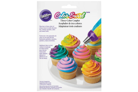 Wilton Colour Swirl 3 Colour Coupler
