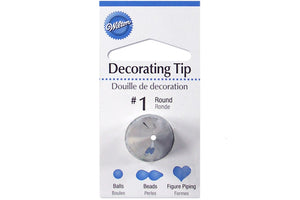 Round Decorating Tip #1 - Wilton