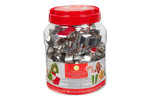 Wilton Assorted Christmas Cutters - Set of 40