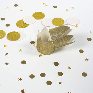 Gold Glitter Party Crowns Party Hats