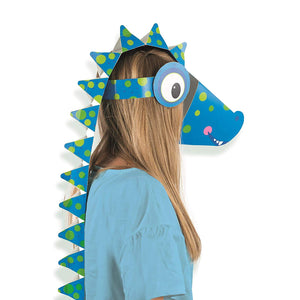 Roar Dinosaur Make Your Own Mask Fancy Dress Head Piece