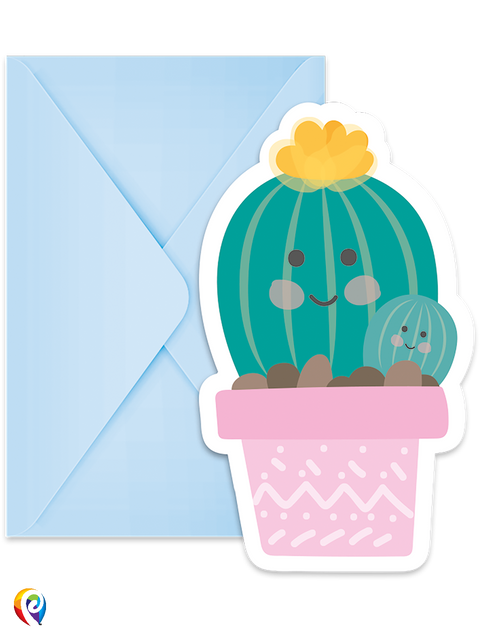 Cactus Invitations & Envelopes